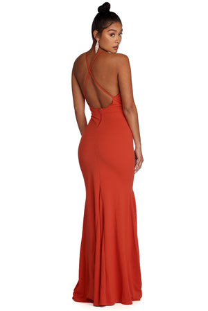 JANE FORMAL OPEN BACK DRESS - Debbie Carter Fashion HQ