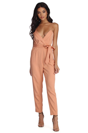 OWN IT TAPERED JUMPSUIT - Debbie Carter Fashion HQ