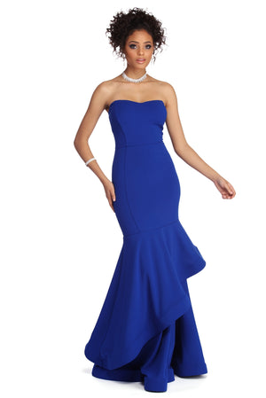 REAGAN FORMAL SWEETHEART MERMAID DRESS - Debbie Carter Fashion HQ
