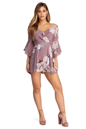 RING IT OUT IN FLORALS ROMPER - Debbie Carter Fashion HQ