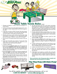Free Rules Poster Tabletennis Com