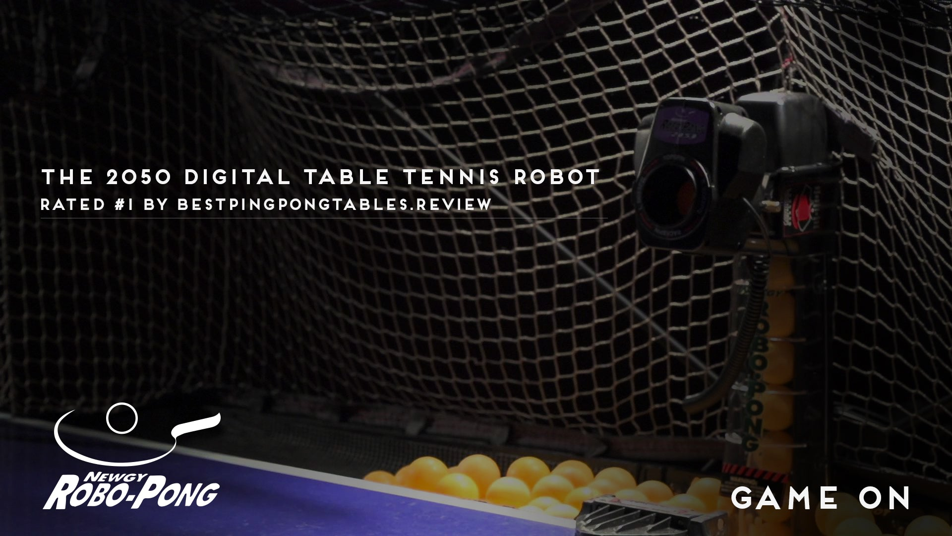 Robo Pong Voted Best Table Tennis Robot