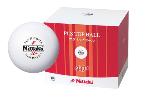 Nittaku PLS Top Ball 40+ Bulk Pack (10 dozen)