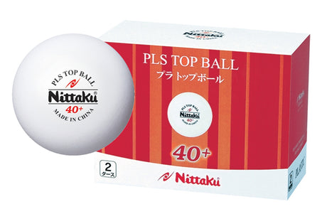 Nittaku PLS Top Ball 40+ (2 dozen)