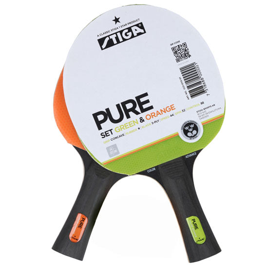 Stiga Pure Color 2-Bat Set
