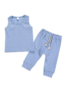 Oh So Comfy Set - Blue