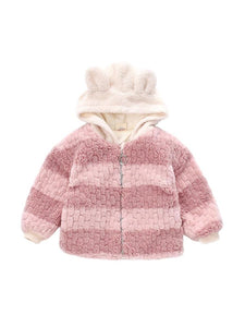 Pink Fleece Teddy Coat