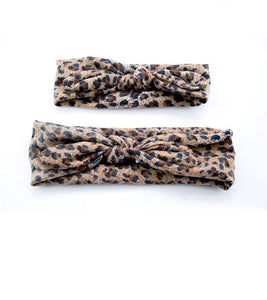 Mommy & Me Wild About You Headband - Brown