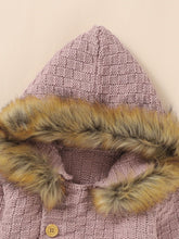 Load image into Gallery viewer, Fur Knit Jumper