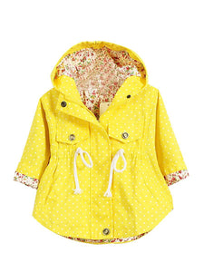 Pretty Spring Jacket (Yellow & Pink)