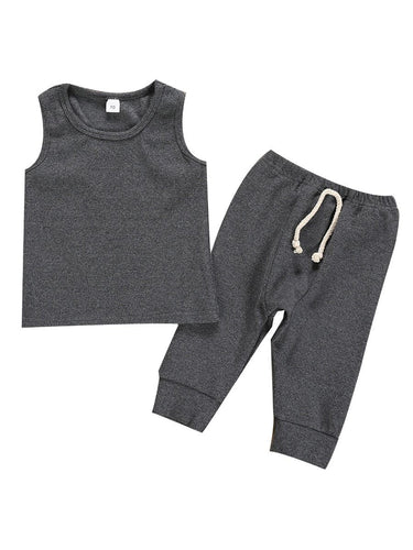 Oh So Comfy Set - Grey