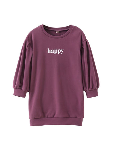 Happy Girl Sweater Dress