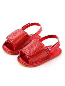 MK Inspired Sandals - Red