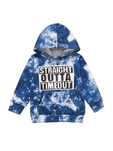 Straight Outta Timeout Tie Dye Sweater
