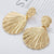 Yellow Summer Gold Beach Earrings