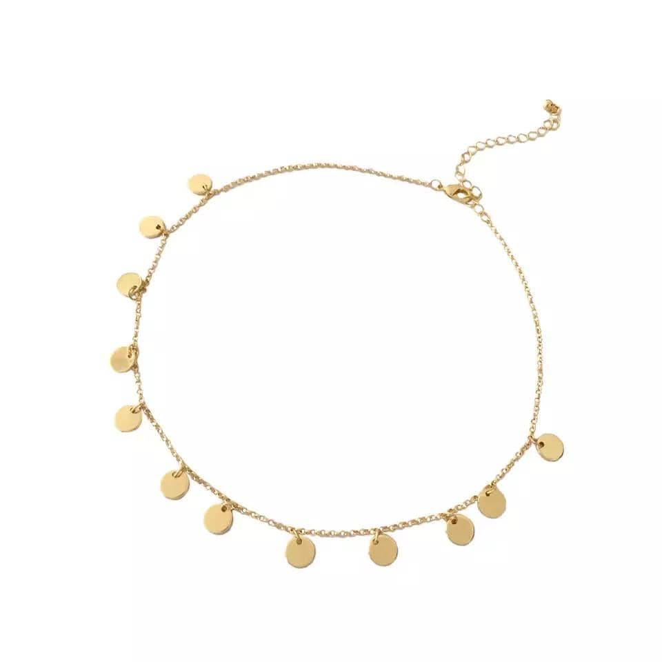 yellowsummer Coin Choker