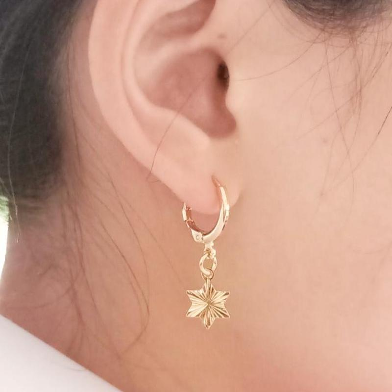yellowsummer Delicate Star Earrings