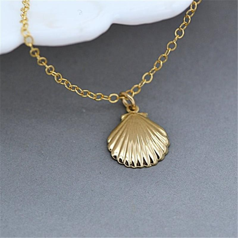 yellowsummer Seashell Necklace