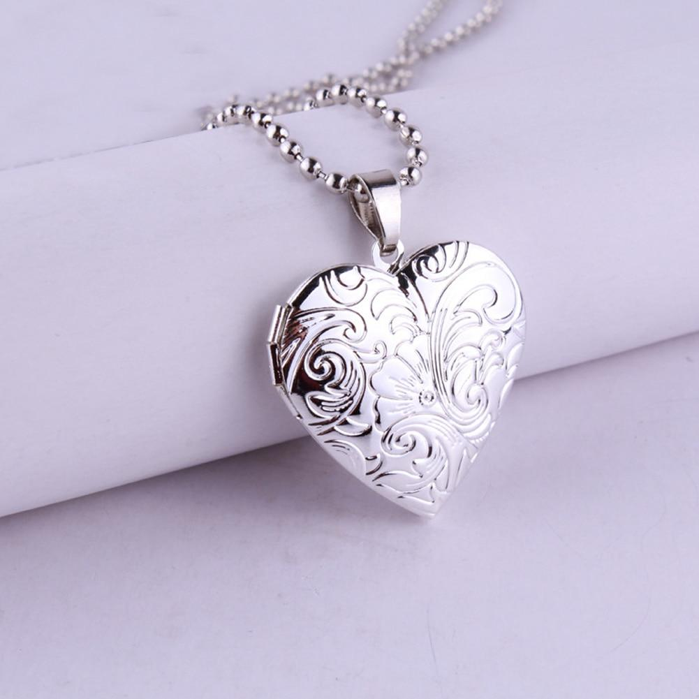 yellowsummer Silver Locket