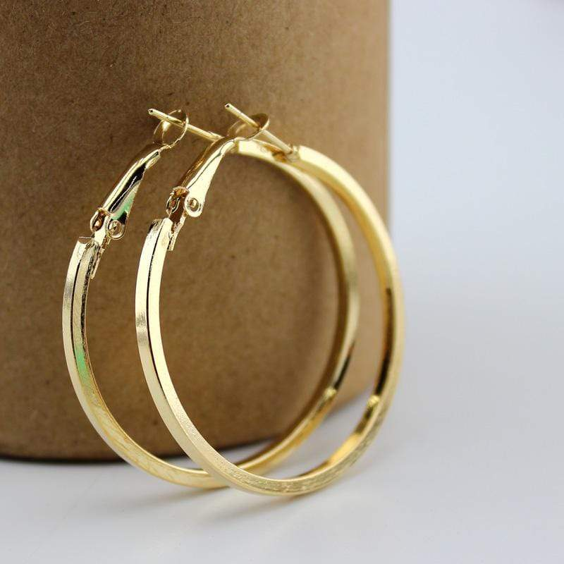 yellowsummer Small Hoop Earrings