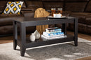 Baxton Studio Elada Modern and Contemporary Wenge Finished Wood Coffee Table