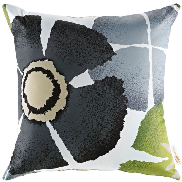 Modway  Outdoor Patio Single Pillow in Botanical