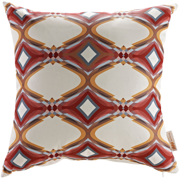 Modway  Outdoor Patio Single Pillow in Repeat