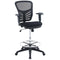 Modway Articulate Drafting Chair in Black