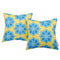 Modway  Two Piece Outdoor Patio Pillow Set in Cornflower