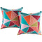 Modway  Two Piece Outdoor Patio Pillow Set in Mosaic