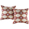 Modway  Two Piece Outdoor Patio Pillow Set in Repeat