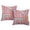 Modway  Two Piece Outdoor Patio Pillow Set in Tapestry