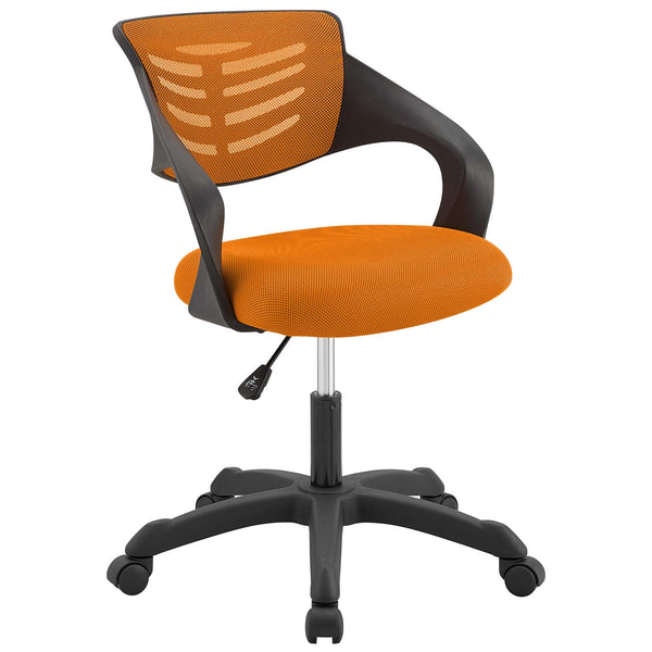 Modway Thrive Mesh Office Chair in Orange