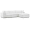 Modway EEI-3356-WHI Commix Down Filled Overstuffed 4 Piece Sectional Sofa Set