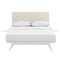Tracy 3 Piece King Bedroom Set in White Beige by Modway