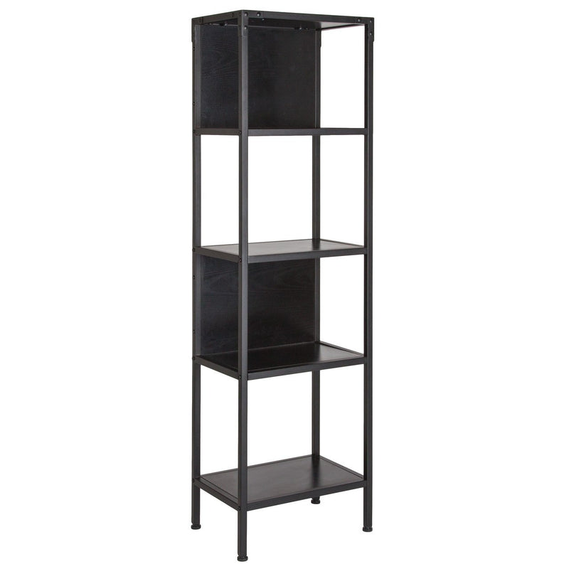 Flash Furniture NAN-JN-28102B-GG Cumberland Collection Bookshelf with Drawer and Shelves in Rustic Wood Grain Finish