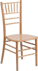 Flash Furniture XS-NATURAL-GG HERCULES Series Natural Wood Chiavari Chair