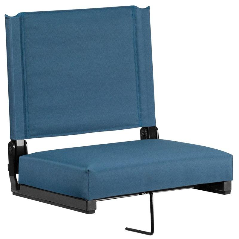 Flash Furniture XU-STA-GN-GG Grandstand Comfort Seats by Flash with Ultra-Padded Seat in Teal