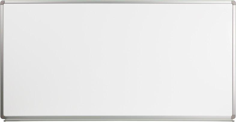 Flash Furniture YU-90X180-WHITE-GG 6' W x 3' H Magnetic Marker Board
