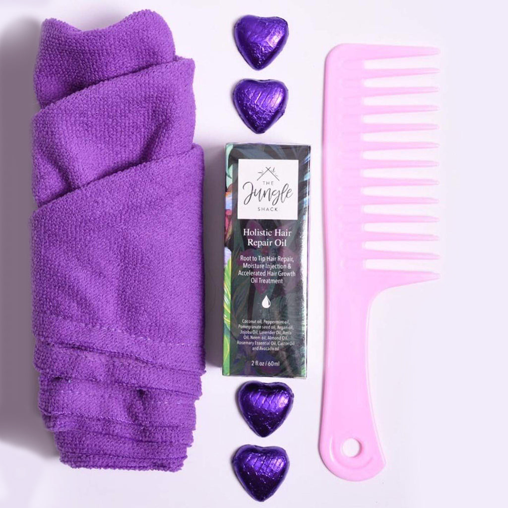 Complete Hair Pamper Hamper Gift Set