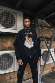 No boundaries ambush wolf t shirt in oversized fit