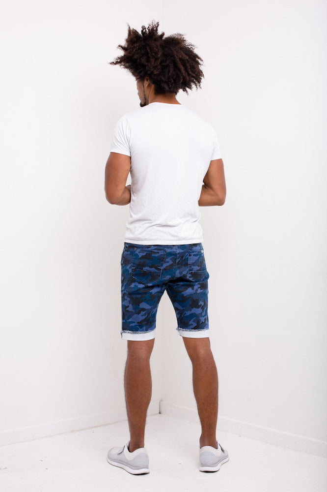 Williamsburg Navy Camo Shorts - Liquor N Poker  LIQUOR N POKER
