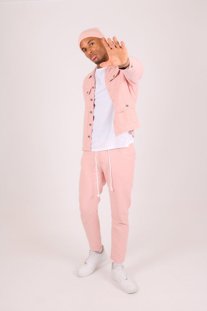 Miami  Cropped pink trousers - Liquor N Poker  LIQUOR N POKER