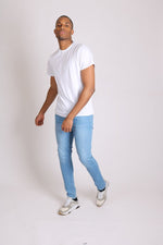 New age skinnies made from recycled materials