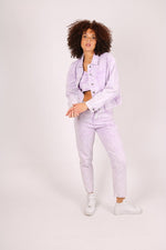 Outta Limits High rise mom jean in lilac acid wash - Liquor N Poker  LIQUOR N POKER