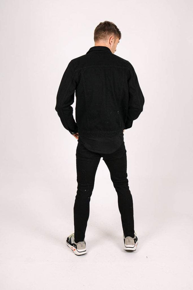 Formentera neon piping skinny jean in black - Liquor N Poker  LIQUOR N POKER
