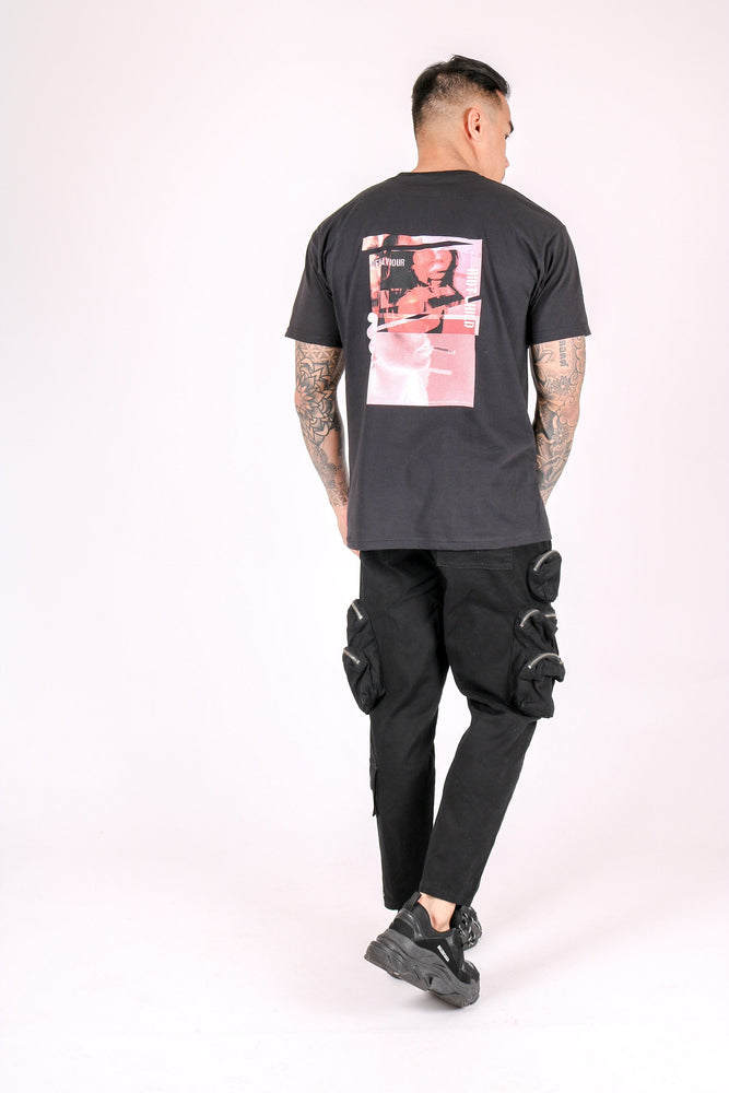 Riot child oversized t shirt in black - Liquor N Poker  LIQUOR N POKER