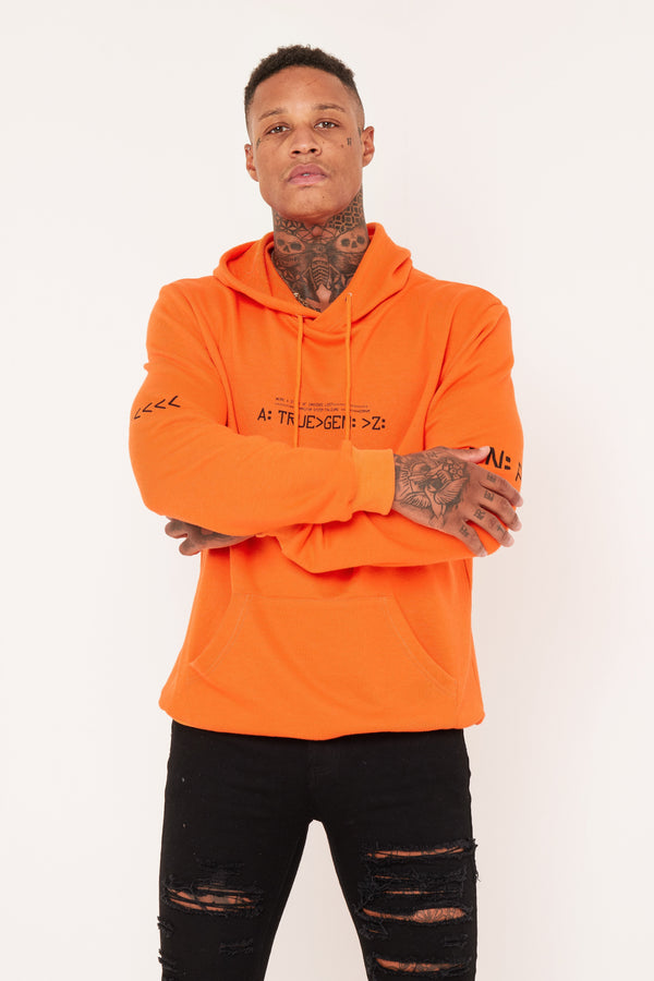 FUTURE GEN Z ORANGE HOODIE - Liquor N Poker  Liquor N Poker