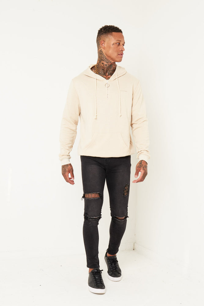 Boston O-Ring Sweater In Beige