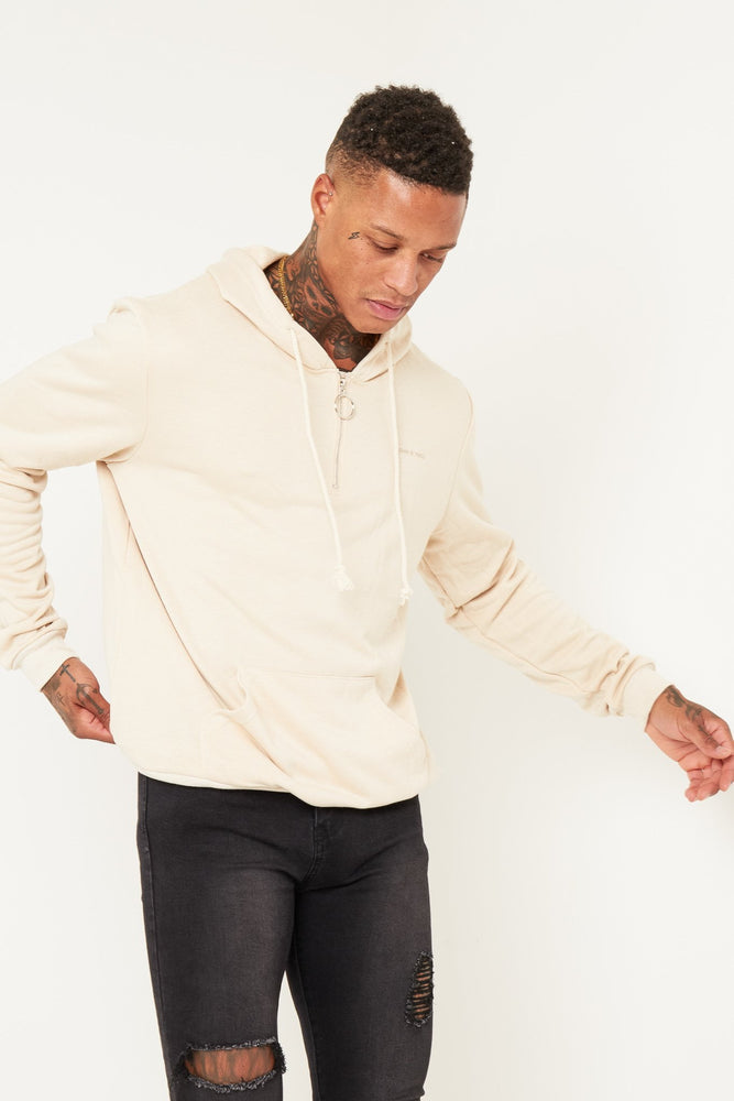 Boston O-Ring Sweater In Beige - Liquor N Poker  LIQUOR N POKER